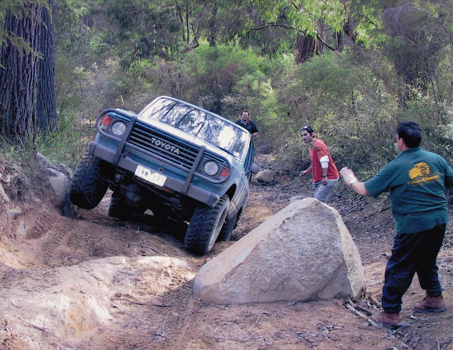 2002 Big Foot in Action Photo by Dave Stewart